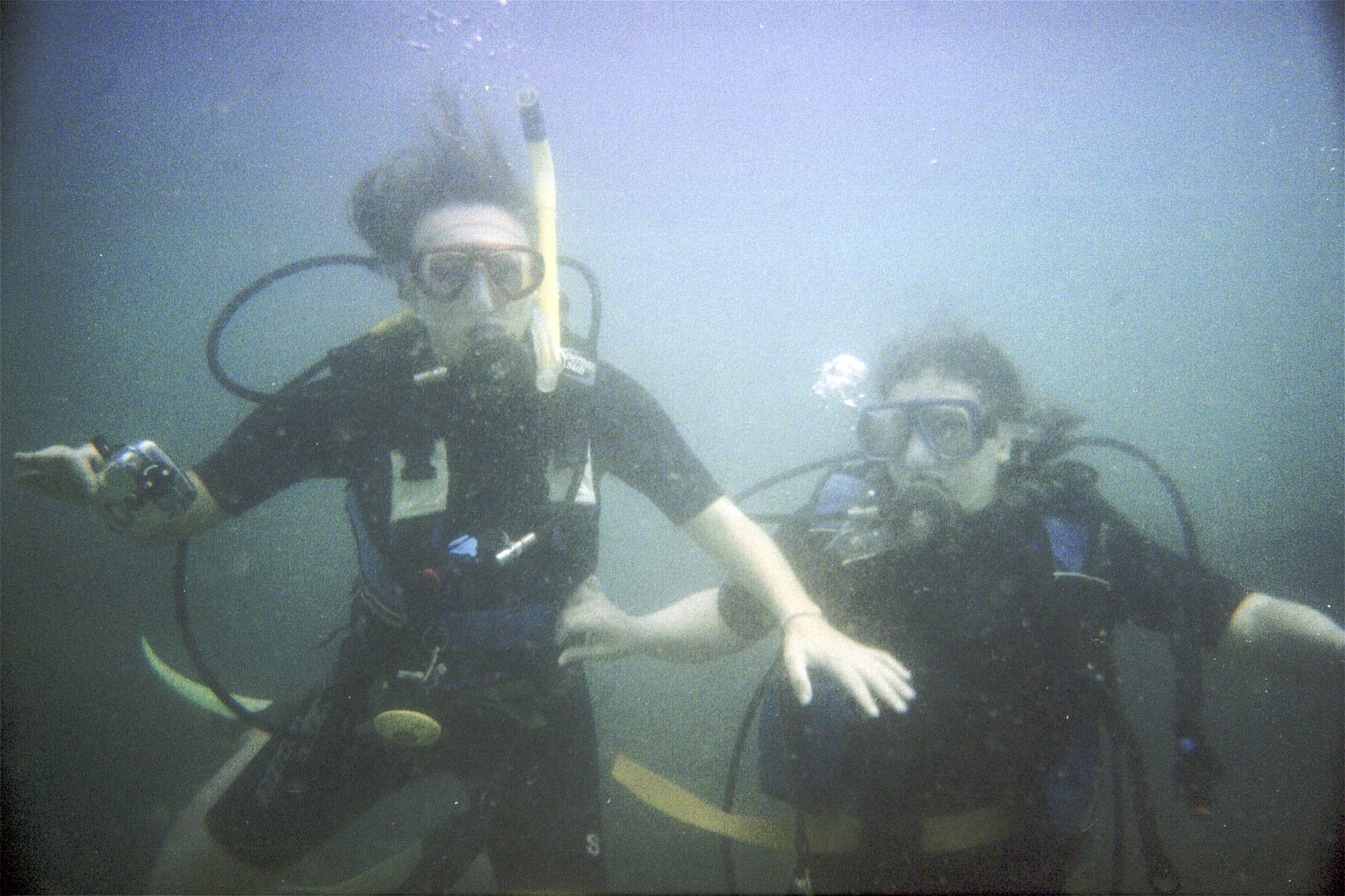 Diving at Ko Rang