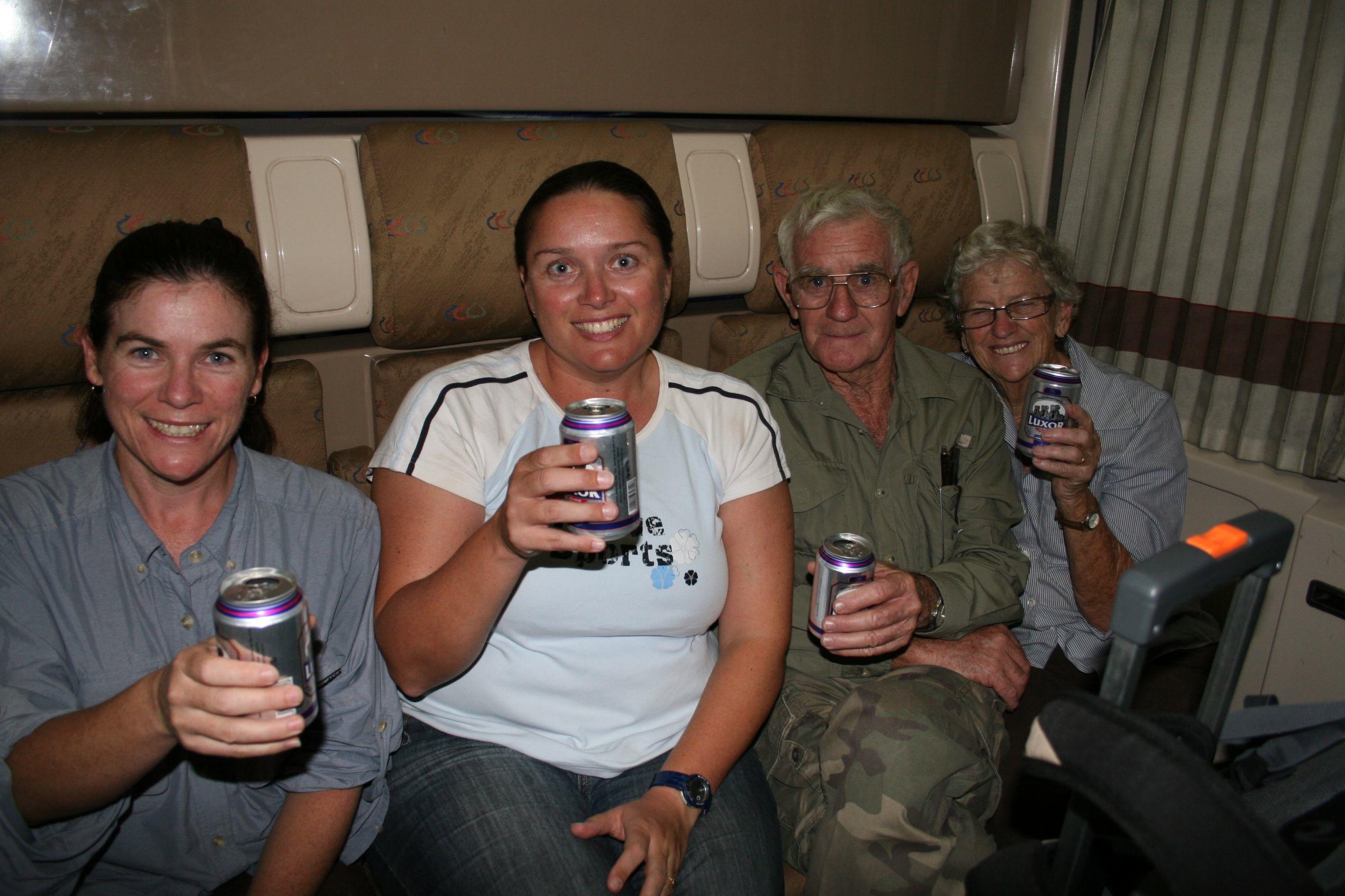 Cheers, Night Train to Cairo