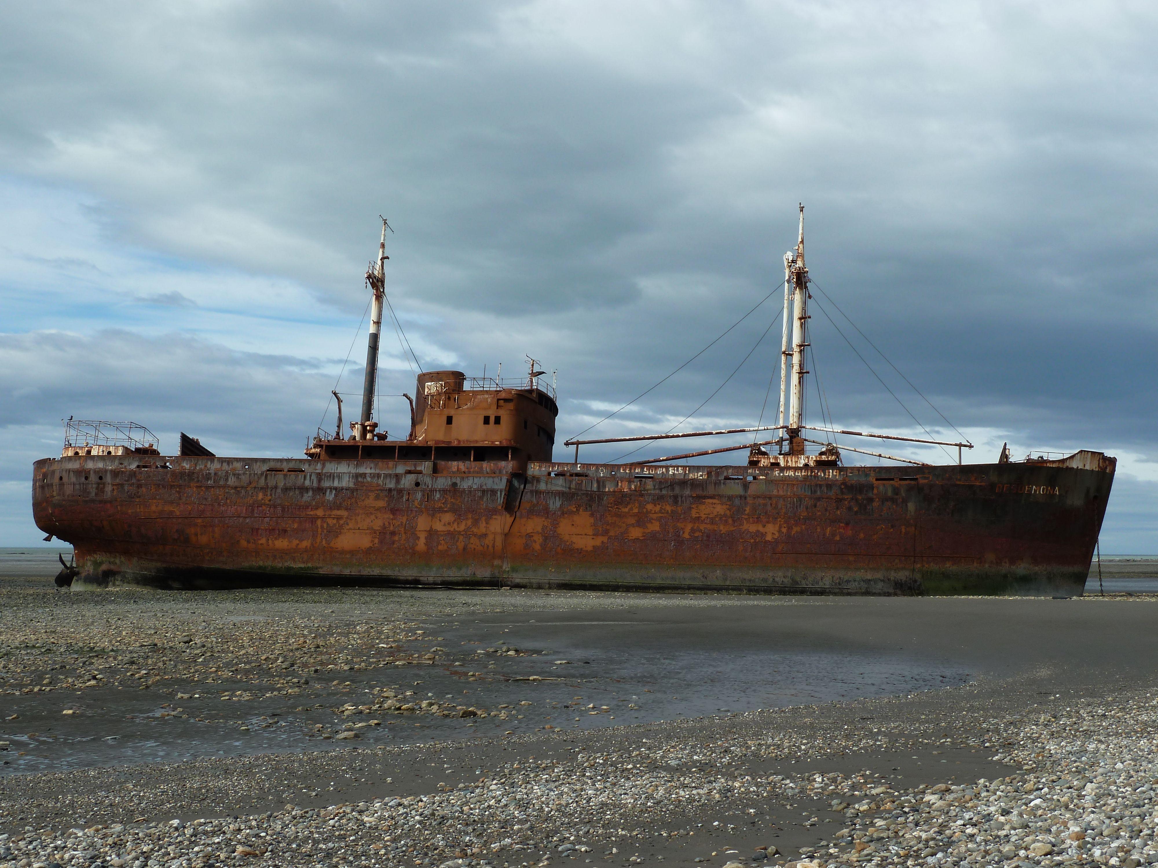 Shipwreck at Sao Palo