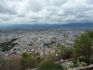 Lookout View over Salta