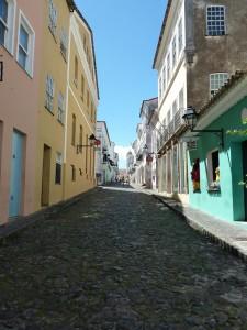 Cobbled Street in Pelourinho