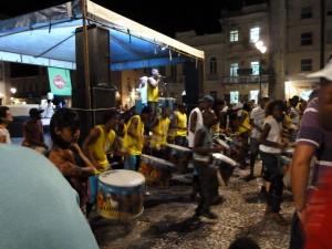 The drum Off