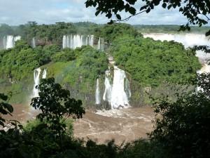 Glimpse of Iguazu