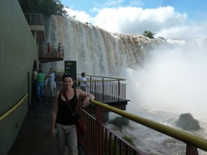 Me at Iguazu Falls
