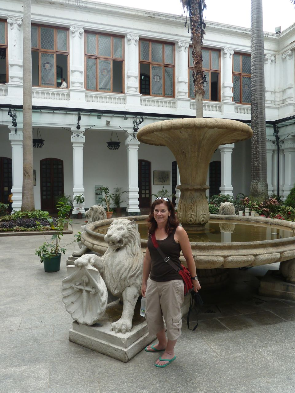 The Courtyard of Cuidad Bolivar