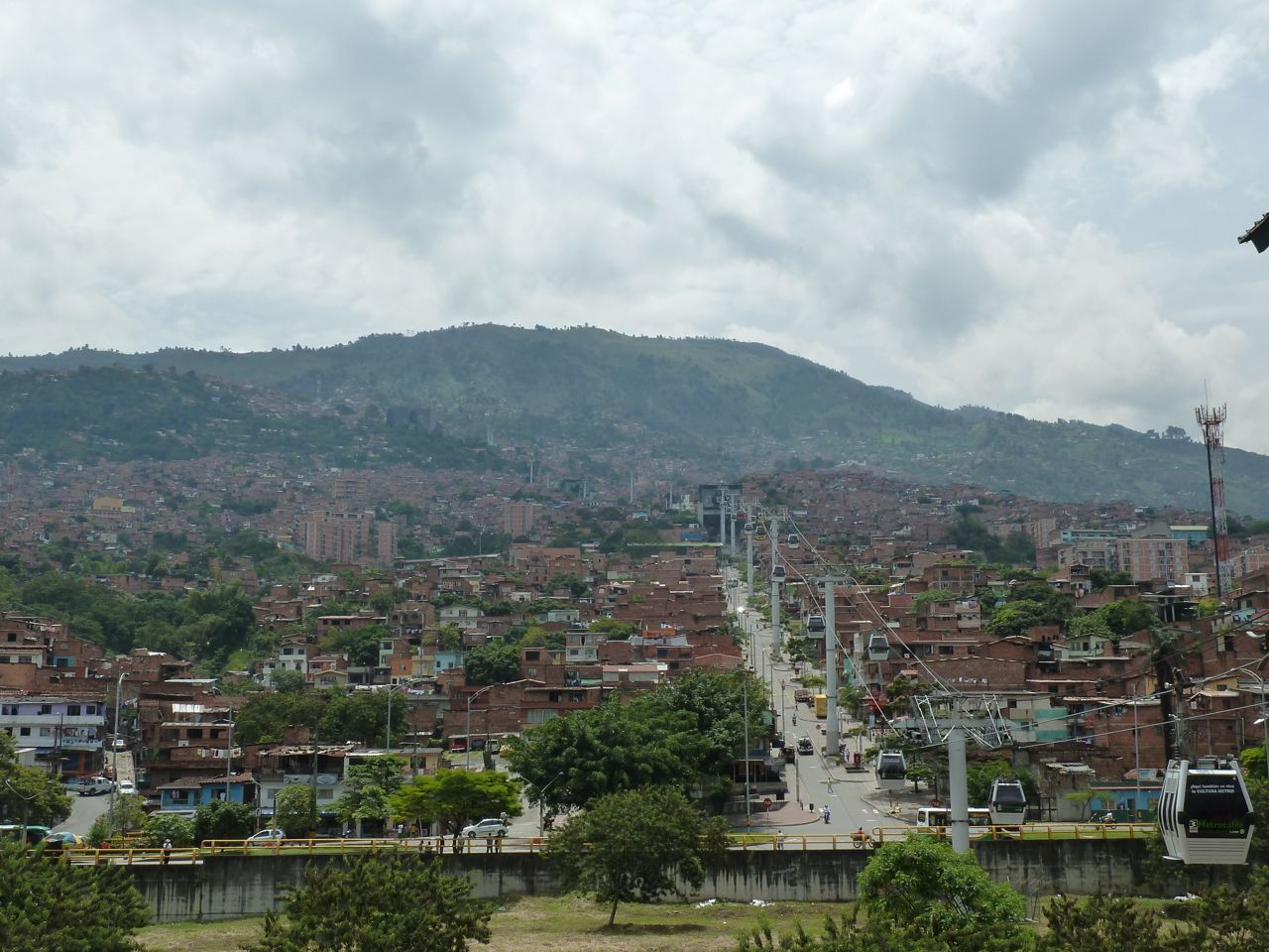 A View of Medellin