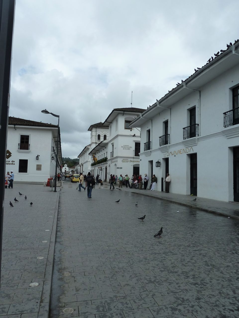 The Streets of Popayan