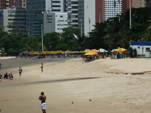Food Stalls on the Beach