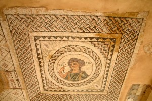 Mosaic in the annexe of Eustolios, Kourion, Cyprus 2015