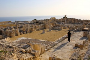 Wandering around the ruins at Kourion, Cyprus 2015