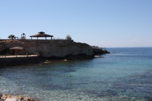Along the coast in the north, Karpas Region, Cyprus, 2015