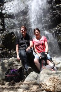 On the way to the Kaledonia Falls, near Platres, Troodos Mountains, Cyprus 2015