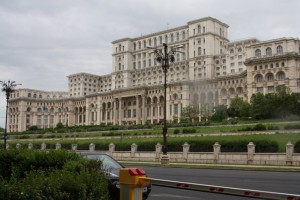 Palace of the Parliament, Bucharest Romania 2015